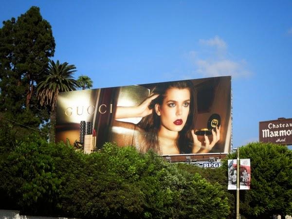 Gucci Face makeup billboard
