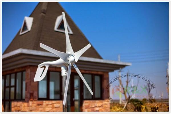 توليد الكهرباء من طاقة الرياح للمنازل