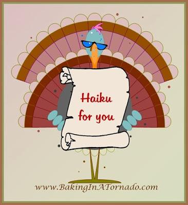 Haiku or Hai-can't, a celebration of Thanksgiving through Haikus | www.BakingInATornado.com | #MyGraphics