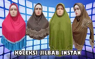 Jilbab instan terbaru, modern dan modis dijual murah grosiran