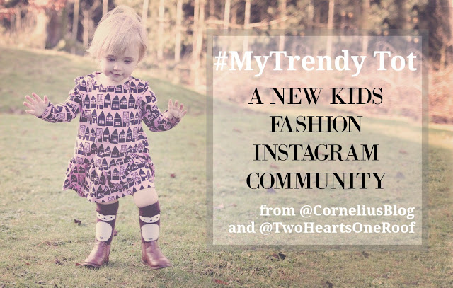 #MyTrendyTot a new kids fashion community linking on instagram .- share pictures of your fashionable toddler for a chance to be featured