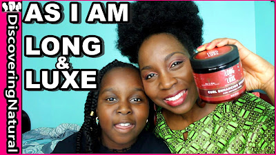 As I Am Long and Luxe Curl Enhancing Smoothie | Is It Worth It? DiscoveringNatural