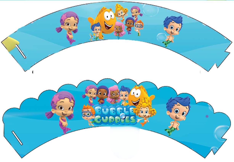 Bubble Guppies Free Printable Mini Kit.