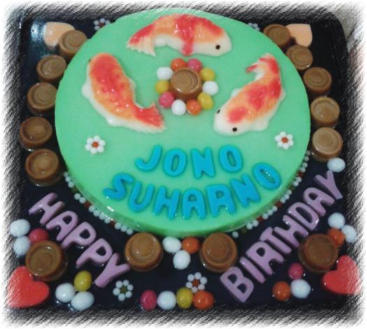 Pin Contoh Kue Ulang Tahun Cake Cake On Pinterest