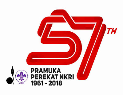 Logo Dan Tema Hari Pramuka Ke-57 Tahun 2018