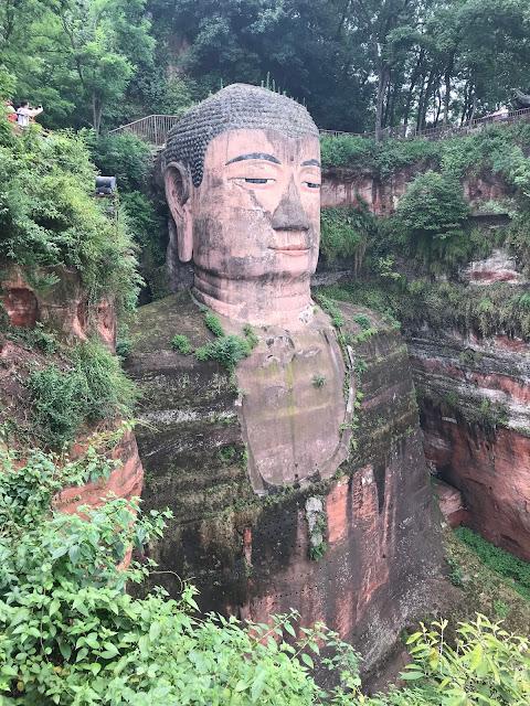 Onde fica o Buda de Leshan