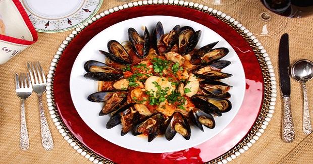 Christmas Eve Seafood Pasta Recipe