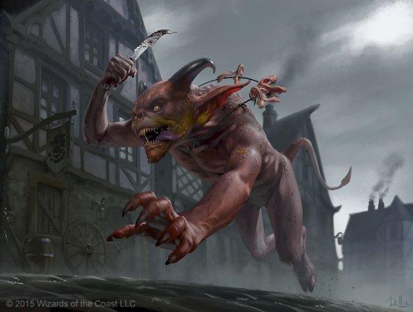 Világbővítés VI: Városok és szörnyek Gibbering-Fiend