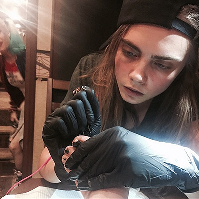 tattoo to Kara Delevin