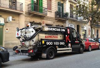 Empresa de desatasco y limpieza de tuberías Hospitalet de Llobregat