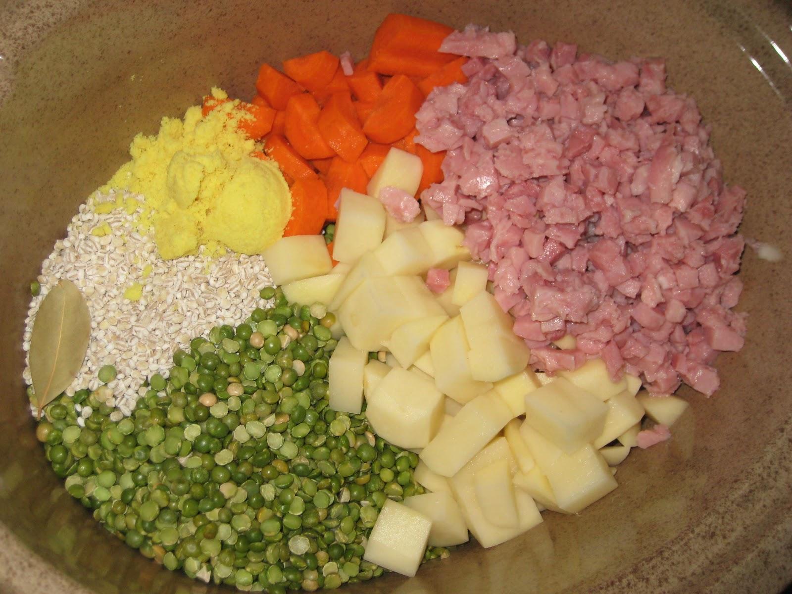 Runs For Cookies Recipes Split Pea Soup