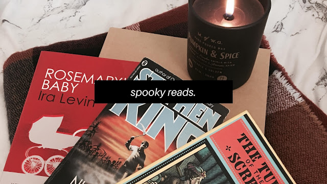 Spooky Reads // Bookish + Blogtober