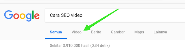 Cara optimasi SEO video