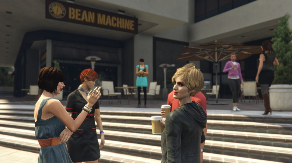 GTAV bean machine