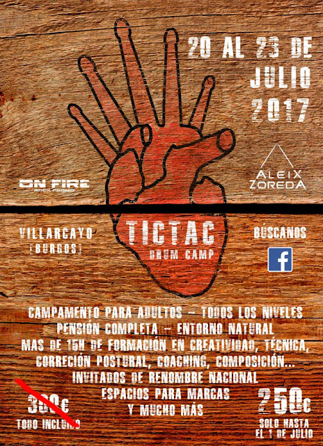massbateria-Cartel Tic Tac Drum Camp