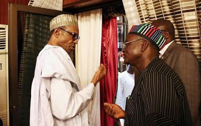 PDP vs APC: Call your aides to order – Ortom tells Buhari