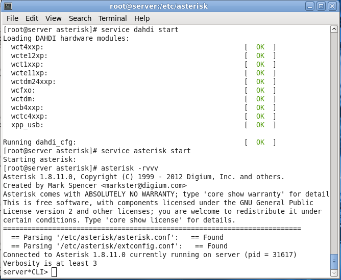 Install Asterisk 1 8  Fedora 14 | Pennyka Trifikta Rimbi