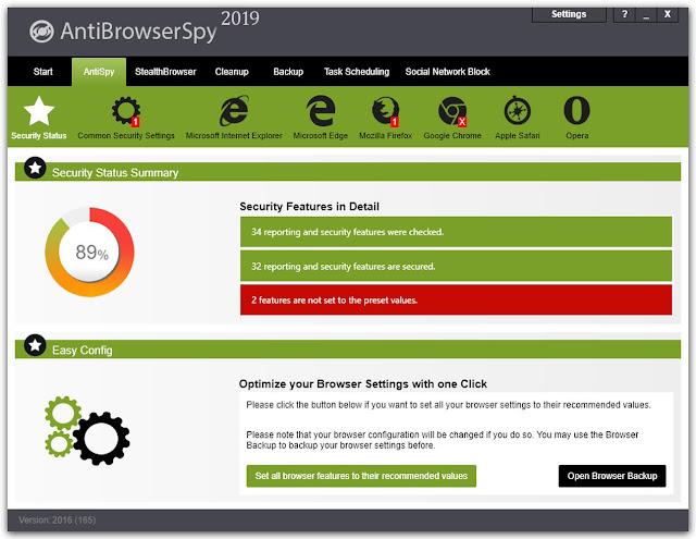 AntiBrowserSpy Pro Key