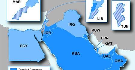 Middle East & Africa Maps ~ UPDATEDIGITALLY