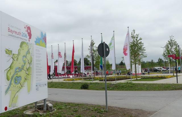 Landesgartenschau Bayreuth 2016 - Eingangsbereich Süd und Kassenhäuser