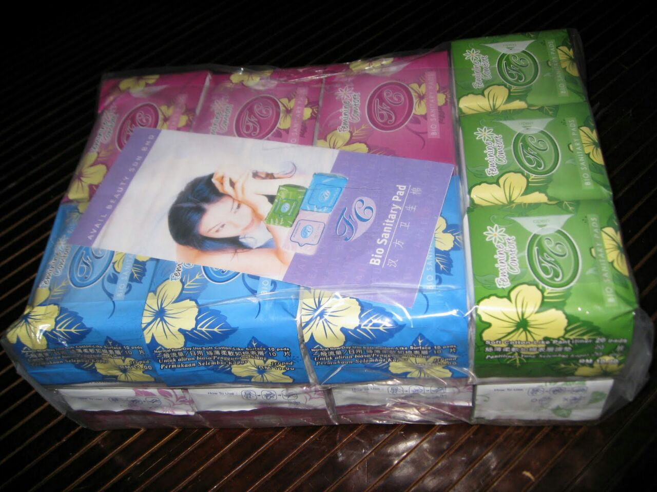 Greenetable Avail Fc Bio Sanitary Pad Pentiliner Combination