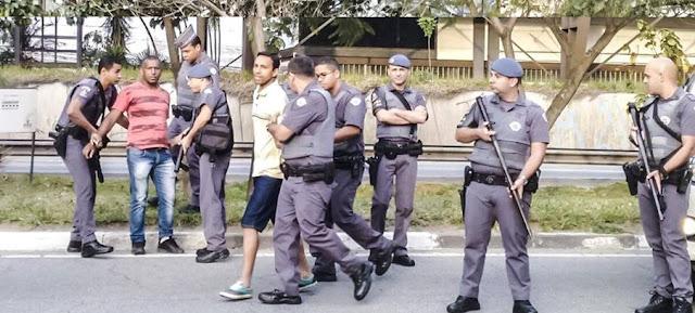 prisão de manifestante em são paulo