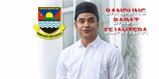 Pesinetron Adly Fayrus Mencalonkan Diri jadi Wakil Bupati Bandung Barat