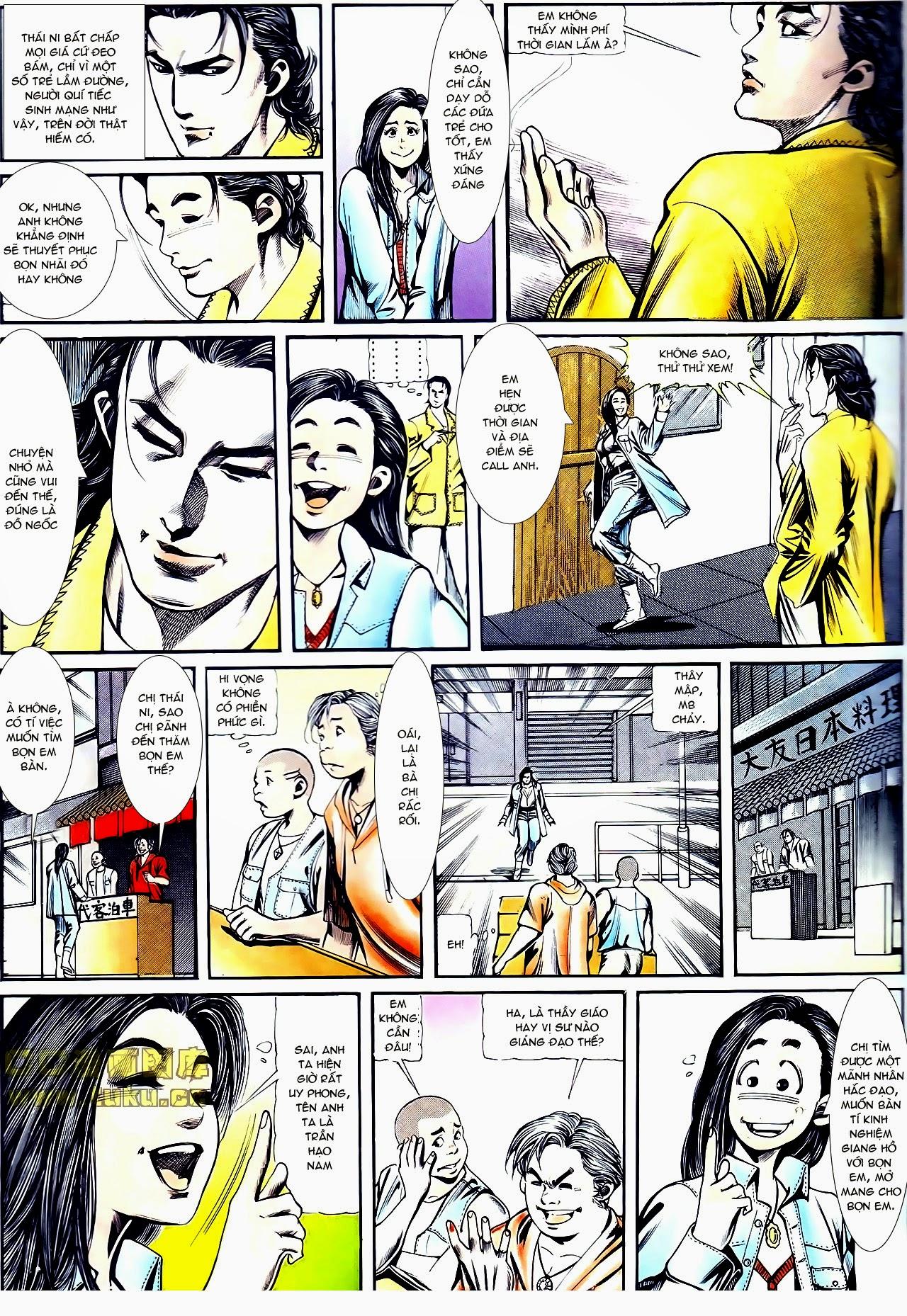 Người Trong Giang Hồ chapter 111: đời không nuối tiếc trang 3