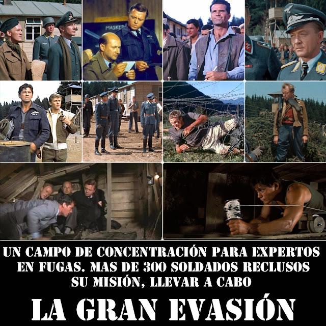Resultado de imagen para película «La gran evasión»