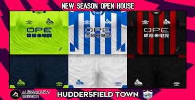 PES 6 Kits Huddersfield Town Season 2018/2019 by Alessandro