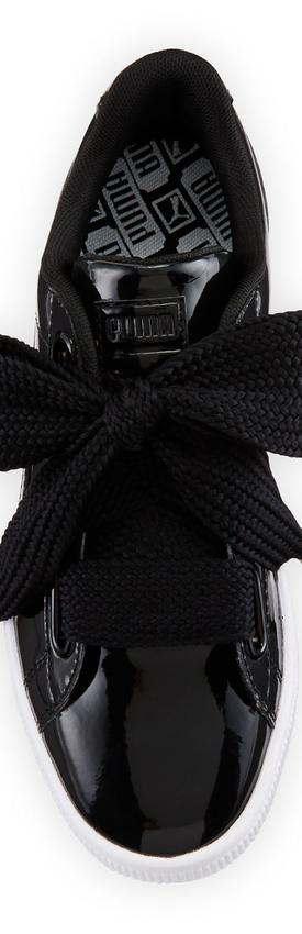 Puma Basket Heart Patent Sneaker