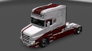 Red Skin for Scania T