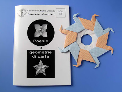 Origami, Booklet QQM 60 and Ghirlanda di anatre - Garland of ducks  © Francesco Guarnieri
