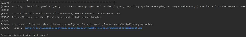 Fix a Small Jetty Plugin Configuration Problem