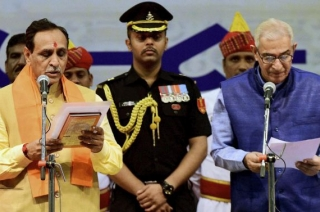 Spotlight : Vijay Rupani Sworn-In As Chief Minister Of Gujarat