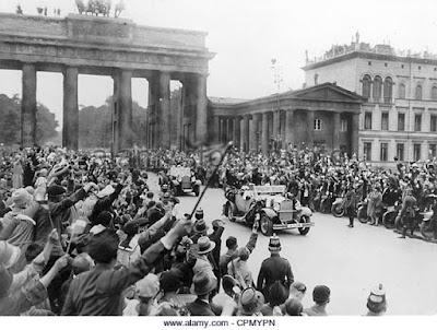 Berlin Porte Brandebourg 1928