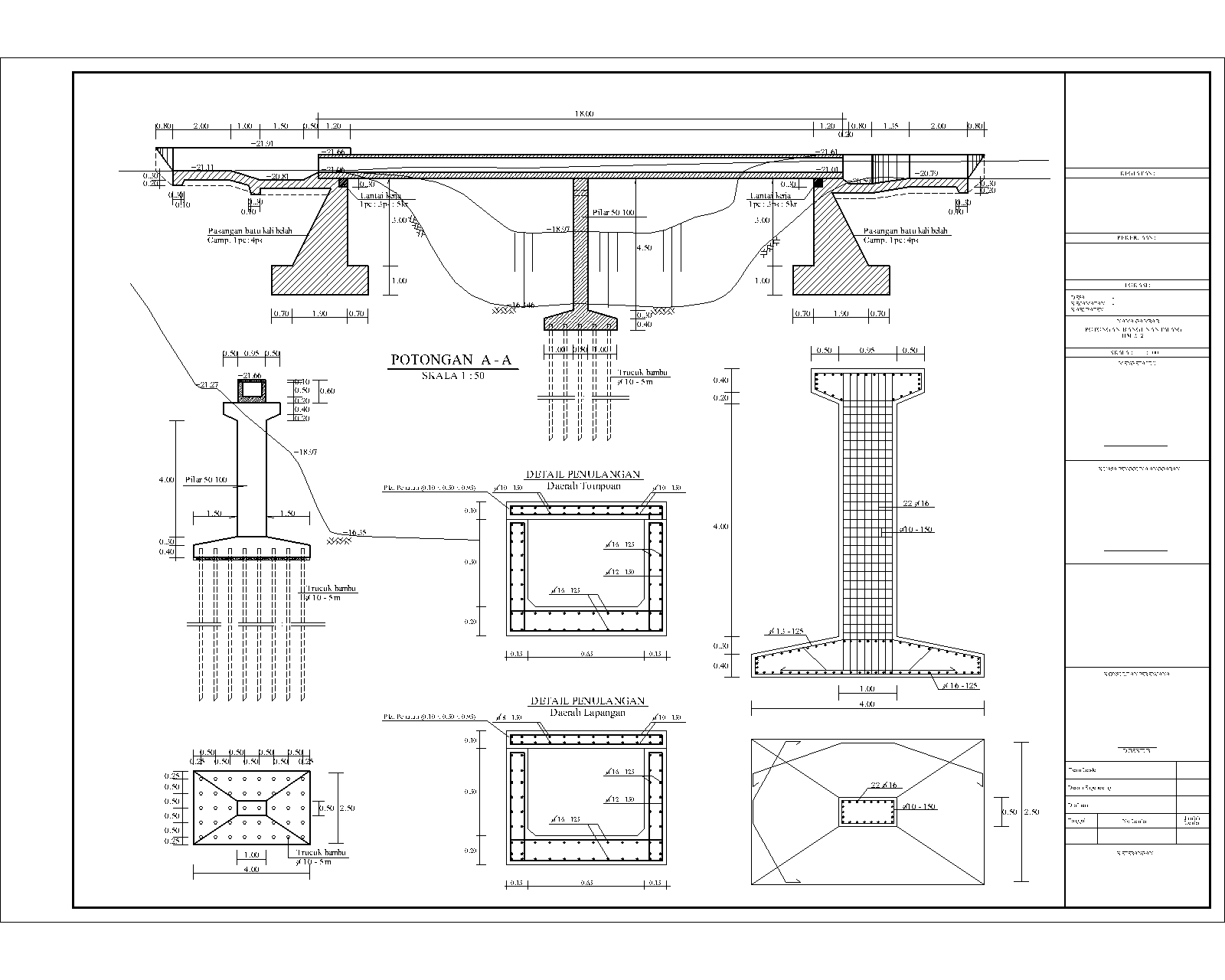 RANCANG GRIYA: Examples of Design Drawings Irrigation