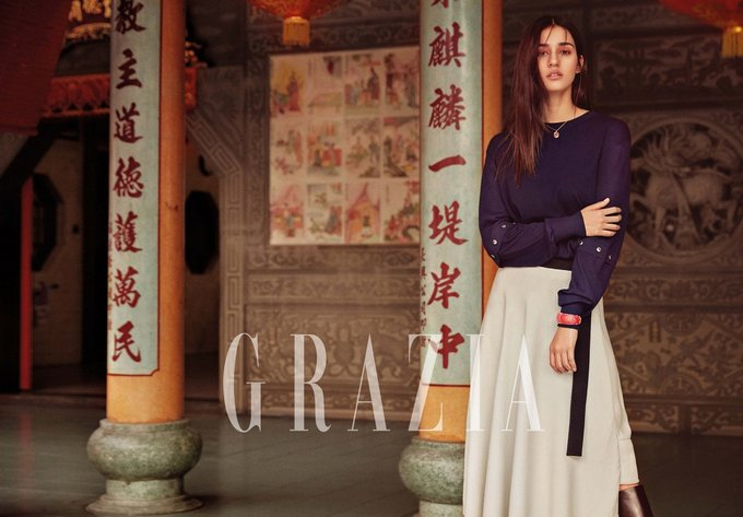 Disha Patani Stunning Poses for Grazia India Magazine August 2017