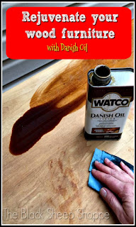 Rejuvenate your wood furniture with Danish Oil