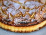 Tarta de Peras con Requesón en Microondas