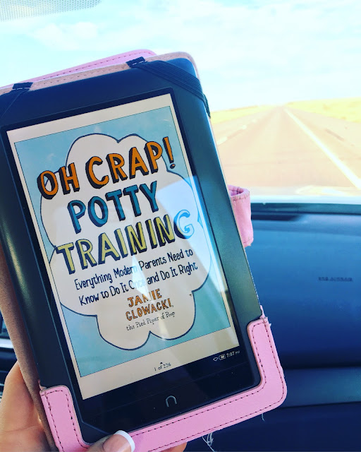 Oh crap! Potty Training book, Nook, roadtrip