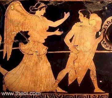 Resultat d'imatges de eos greek goddess