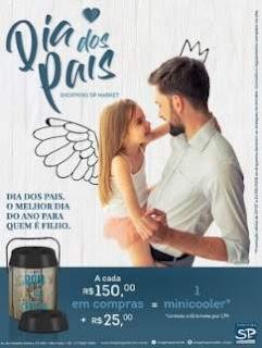 Promoção SP Market Shopping Dia dos Pais 2018 Minicooler Exclusivo
