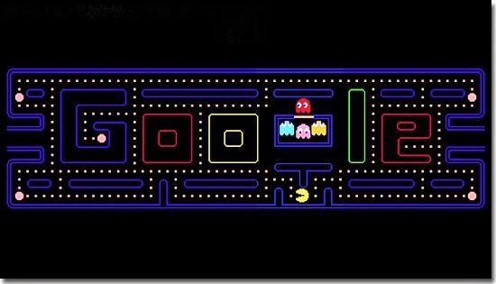 Pacman - Google Doodle