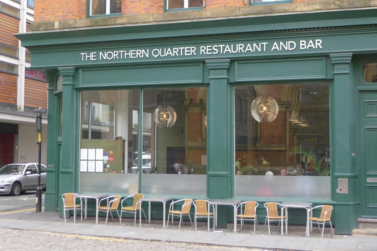 Lunch Menu Northern Quarter