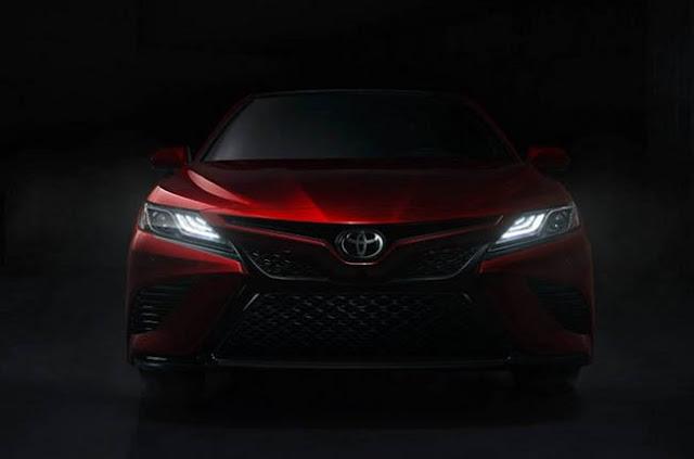 2019 Toyota Camry Prototype