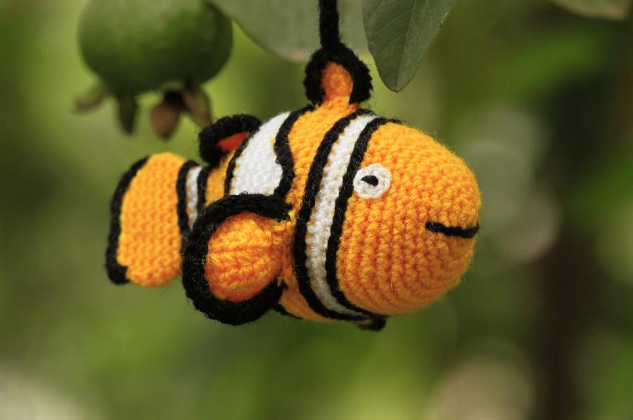 Amigurumi | Nemo Tsum Tsum Crochet Tutorial - YouTube | 598x900