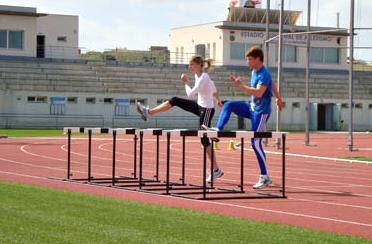 Proceso entrenamiento jóvenes atletas
