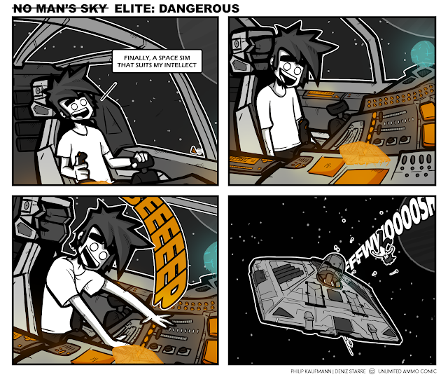 Elite Dangerous deserves it's name when you are not so elite!