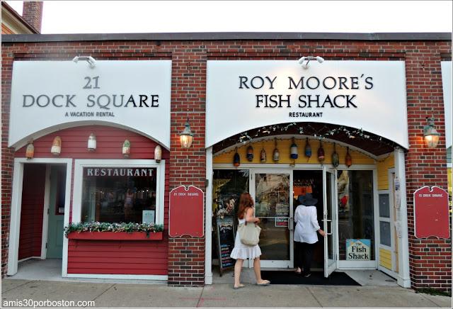 Oferta Gastronómica de Rockport: Roy Moore's Fish Shack Restaurant